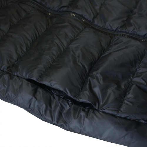 Stylová šedá dívčí prošívaná bunda