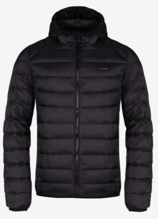 Černá prošívaná pánská zimní bunda Loap Ipry
