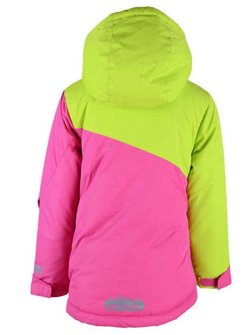 moderní lyžařská bunda pro dívky