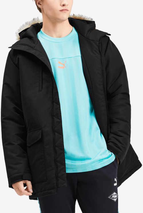 Pánská zimní bunda Puma pro mladé výprodej