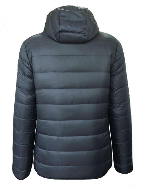 šedá zimní prošívaná bunda pro dívky