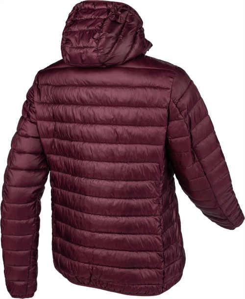 dámská bunda prošívaná s kapucí a kapsami