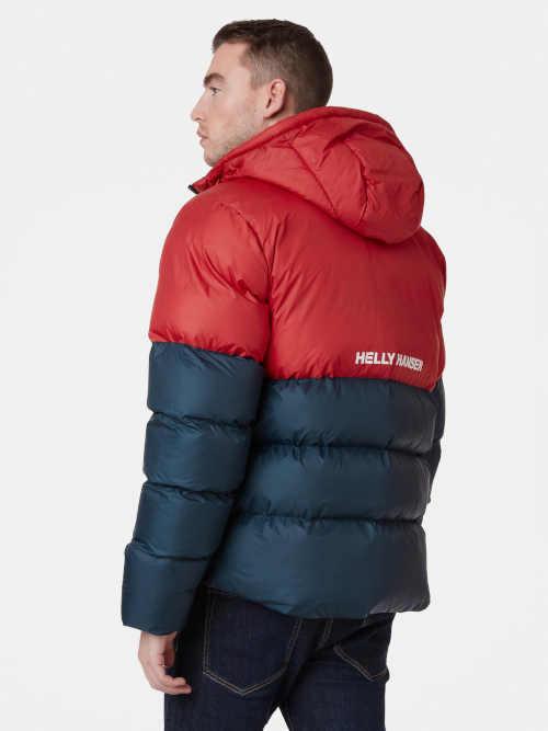 moderní pánská prošívaná bunda nejen na hory