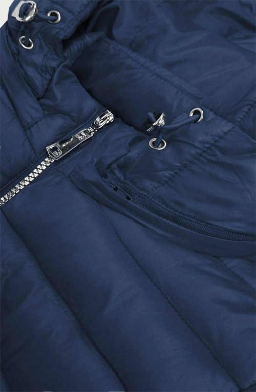 stylová bunda v prodloužené délce s kapucí