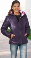 Oboustranná dívčí zimní bunda bonprix výprodej