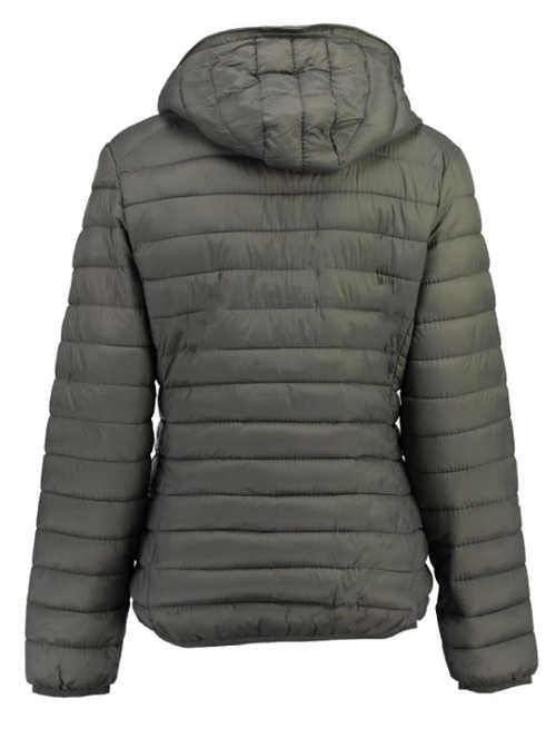 Prošívaná šedá dětská zimní bunda Geographical