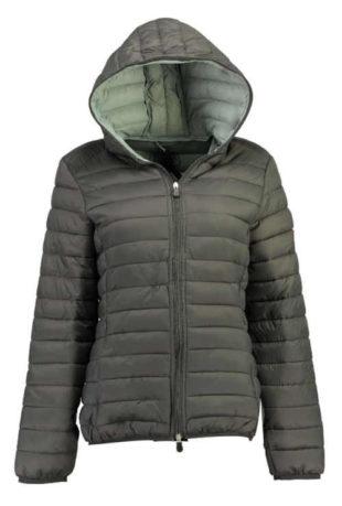 Šedá chlapecká norská prošívaná zimní bunda