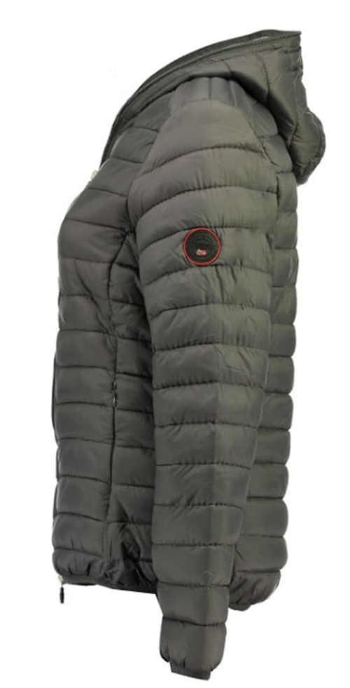 Šedá lyžařská dětská bunda výprodej