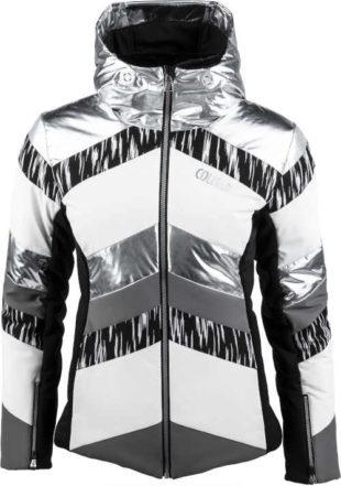 Luxusní dámská lyžařská bunda z kvalitního materiálu