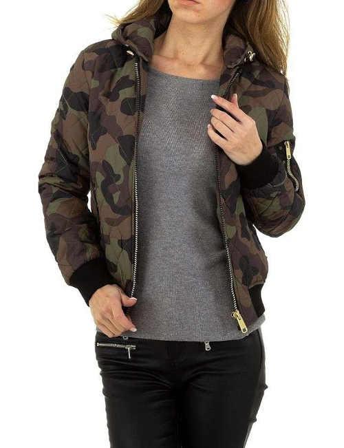dámská bunda v army stylu