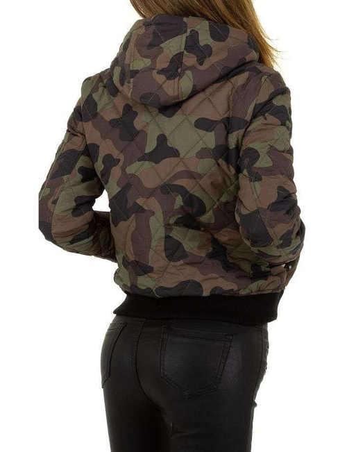 dámská krátká prošívaná bunda