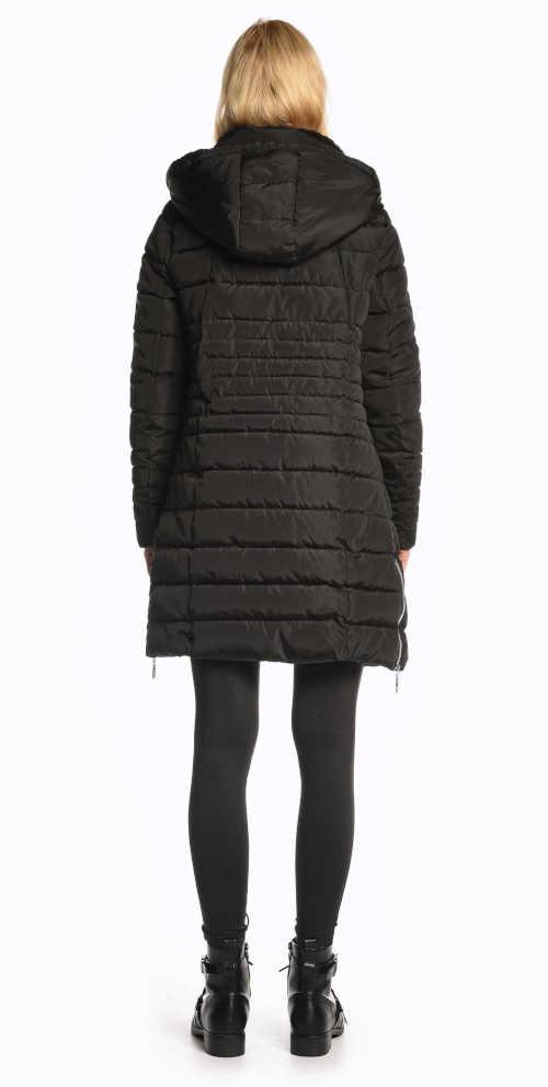 dámská prošívaná dlouhá bunda