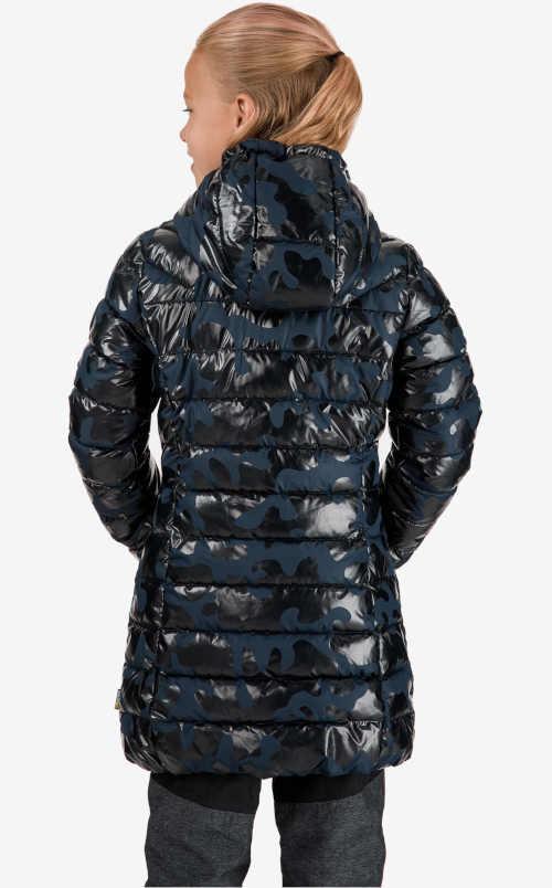 dětský zimní prošívaný kabát