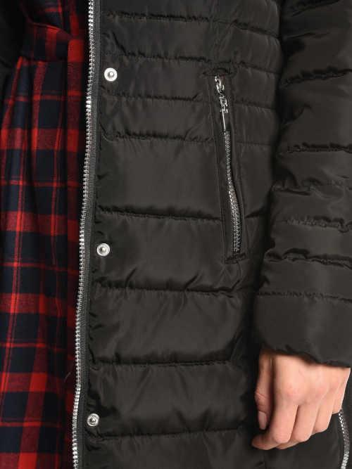 moderní bunda v prodloužené délce