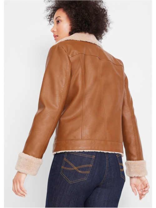 módní dámská krátká bunda