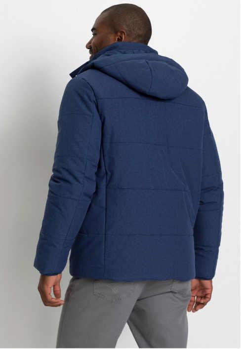 modrá stylová pánská bunda