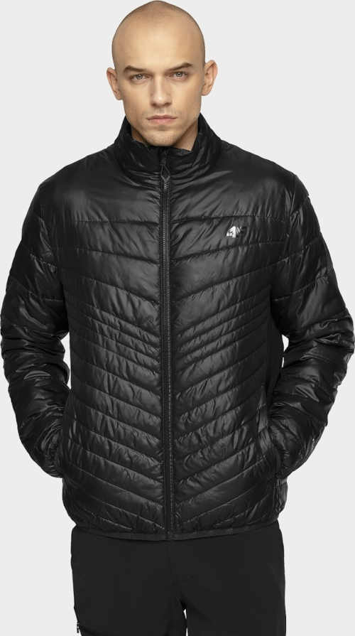 péřová pánská černá bunda