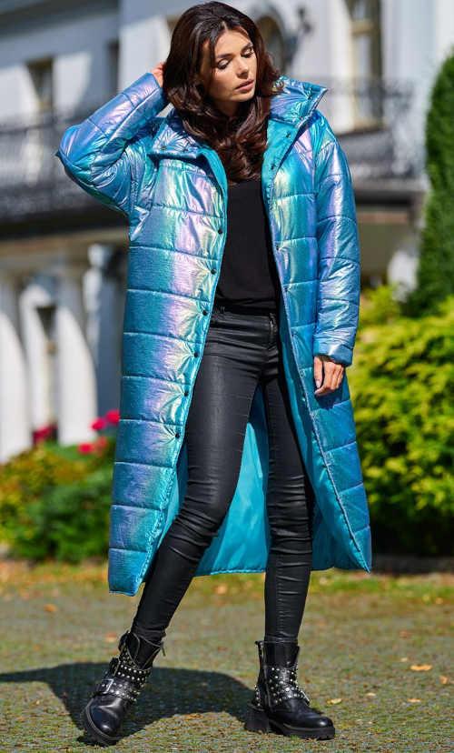 světle modrá dámská bunda