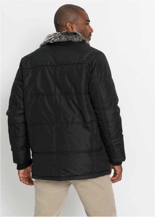 zimní bunda pro pány v černém provedení