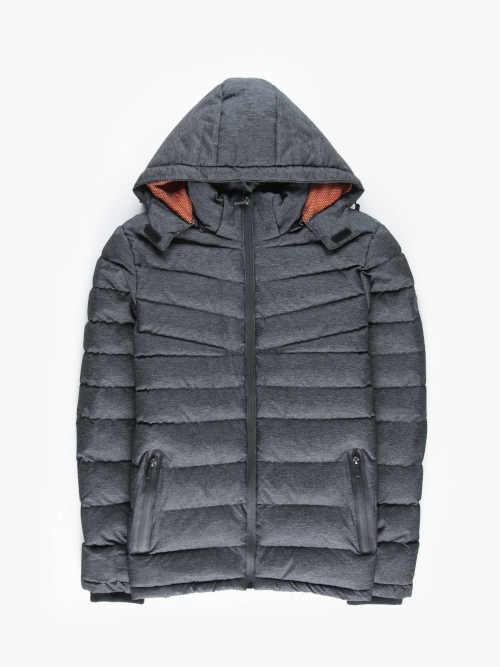 zimní bunda v kratší délce