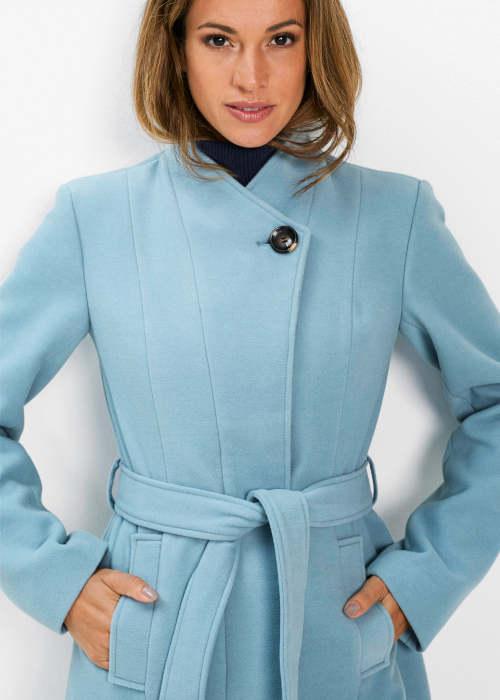 Elegantní blejzrový dámský zimní kabát Bonprix