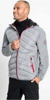 Pánská šedá softshellová bunda bonprix s kapucí