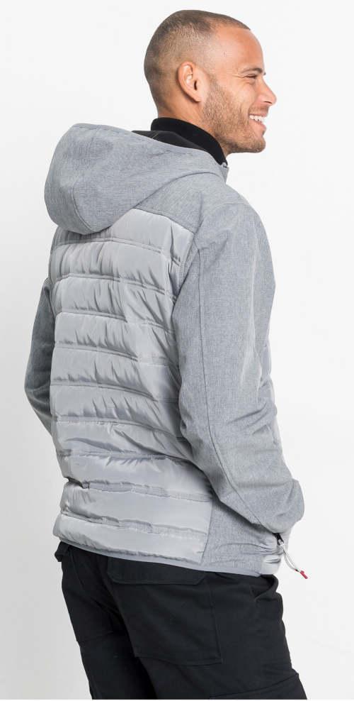 Pánská softshellová bunda do chladnějšího počasí