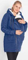 Těhotenská a nosící zimní bunda s podšívkou