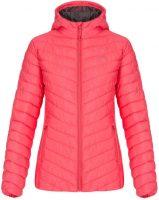 Červená prošívaná dámská zimní bunda Loap IRINNA