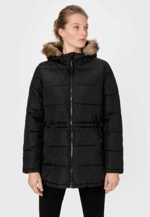 Moderní dámská bunda GAP s kapucí a stažením v pase
