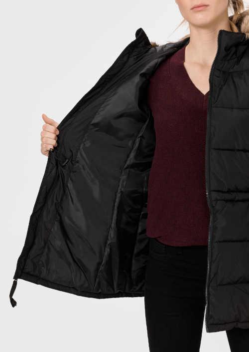 bunda černá zimní GAP