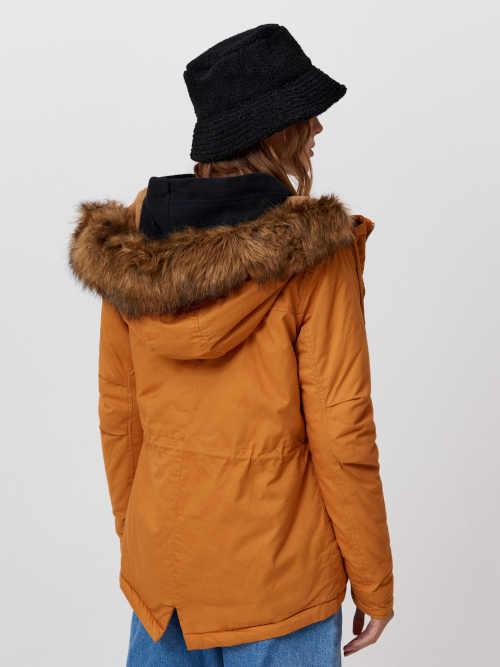 dámská parka s kapucí a kapsami