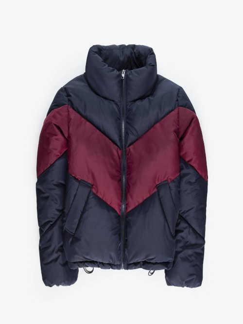 dámská zimní dvoubarevná bunda