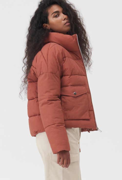stylová prošívaná dámská bunda