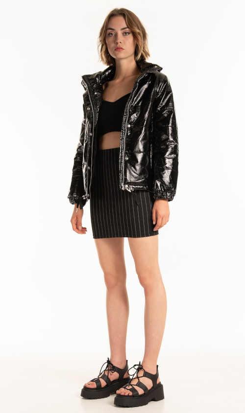 zimní dámská vatovaná bunda