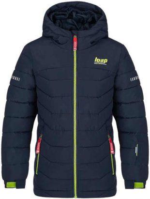 Chlapecká kvalitní lyžařská bunda s praktickou kapucí