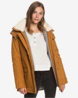 Hřejivá kvalitní zimní bunda s kapucí v moderním provedení