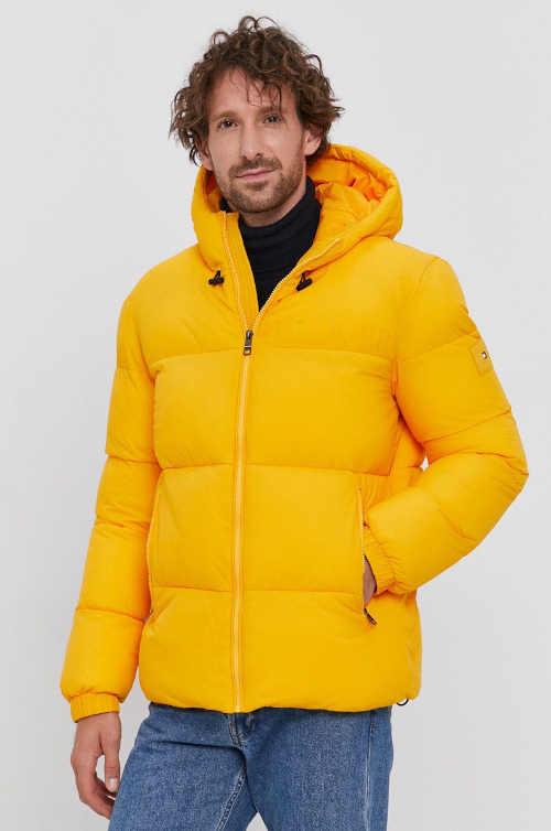 Pánská prošívaná krátká bunda do pasu Tommy Hilfiger