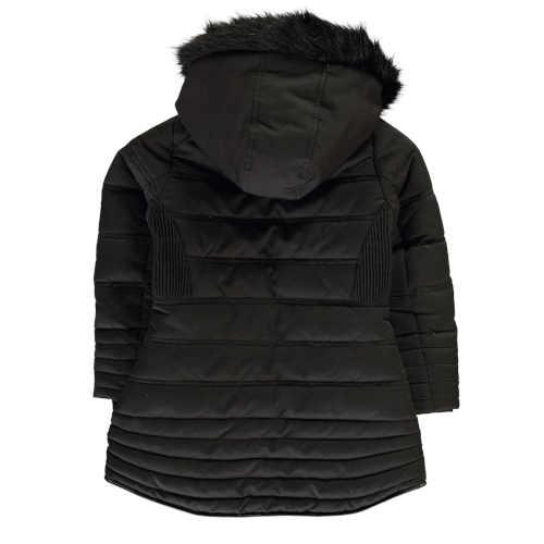 černá dětská zateplená bunda