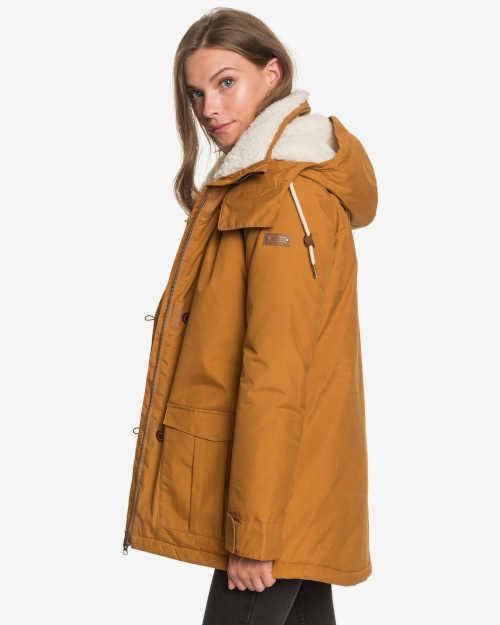 hnědá dámská zimní bunda