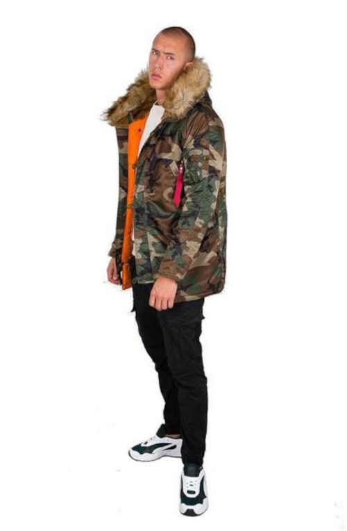 kvalitní pánská zimní bunda