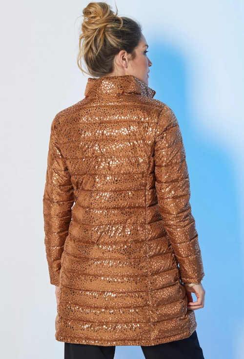 kvalitní zimní dlouhá bunda