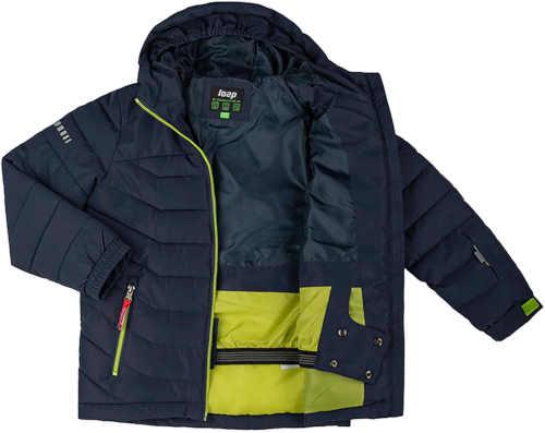 lyžařská chlapecká bunda s kapucí
