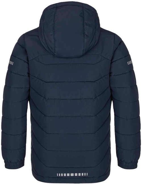 lyžařská modro-zelená bunda