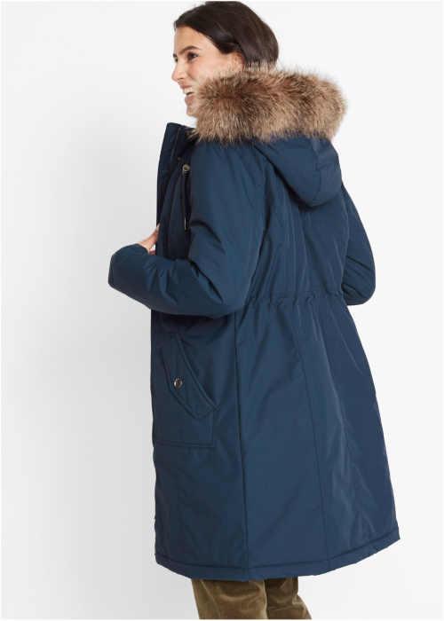 moderní dámská parka s kapucí