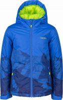 Dětská nepromokavá lyžařská bunda s kapucí s cool potiskem