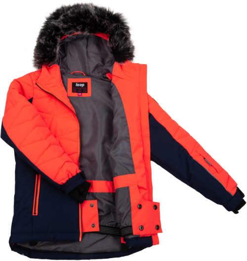 bunda dětská s kapucí a kapsami