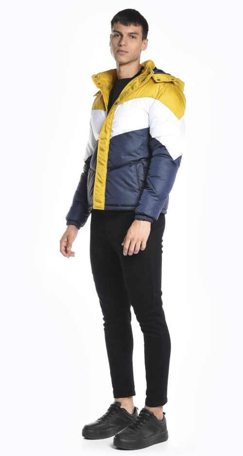 moderní prošívaná zimní bunda