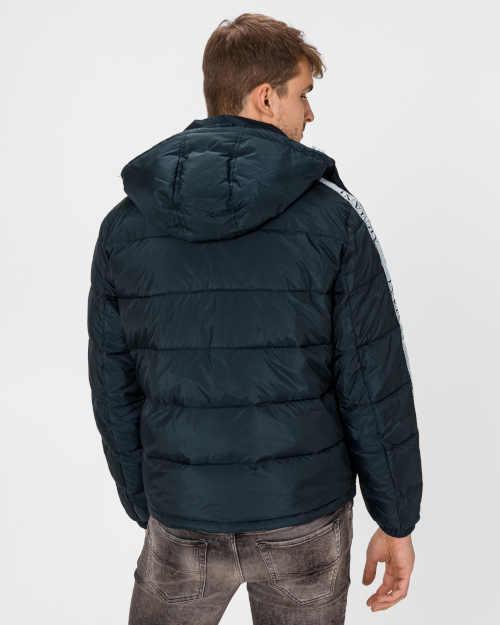 prošívaná bunda Armani s kapucí