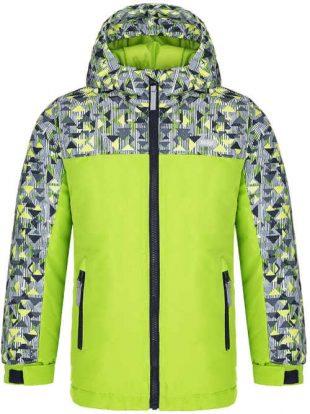 Dětská zimní bunda LOAP s kapucí a reflexními prvky